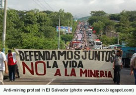 El Salvadoran anti-mining successful  -  sort of ...