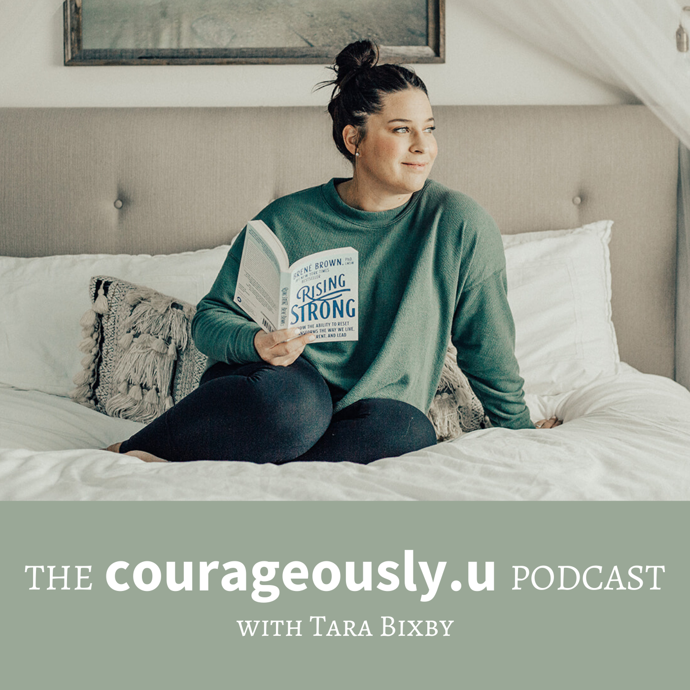 The Courageously.u Podcast show art