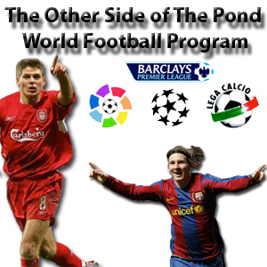 TOSOTPOND World Football Podcast 60: Martian Men