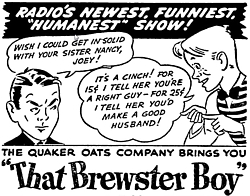 173-130909 In the Old-Time Radio Corner - That Brewster Boy