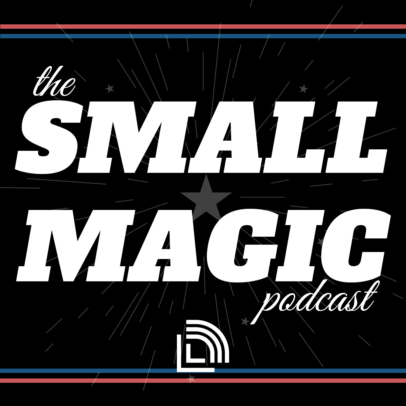 The Small Magic Podcast show art