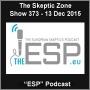 Artwork for The Skeptic Zone #373 - 13.Dec.2015