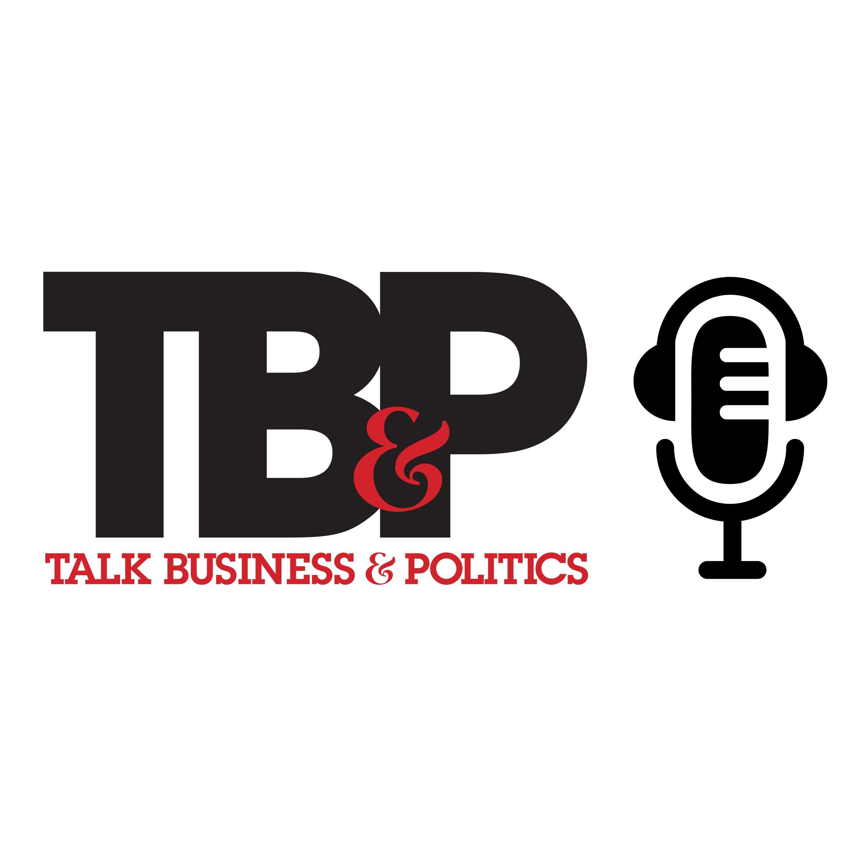 Talk Business and Politics show art