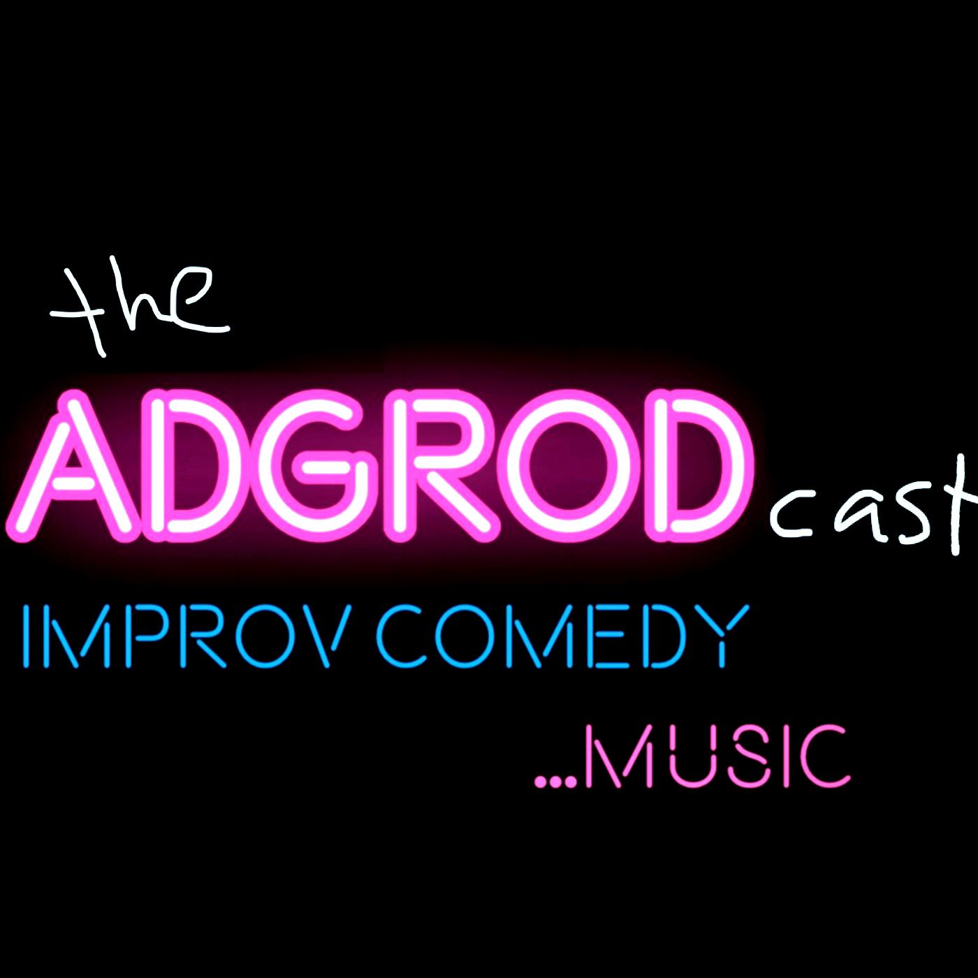 The AdGRodcast show art