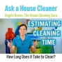 Artwork for How Long Does it Take to Clean a House?