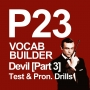 Artwork for P23 [3/3] VOCAB BUILDER: Devil (Memory Test & Pronunciation Drills)