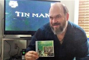 "Homemade DVD of SciFi's three-part miniseries ""Tin Man."""