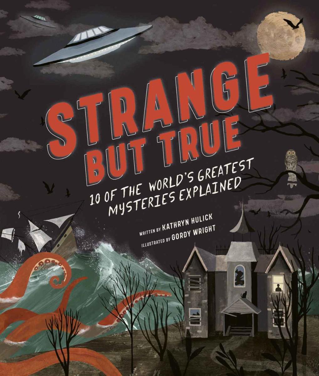 Book cover for Strange But True