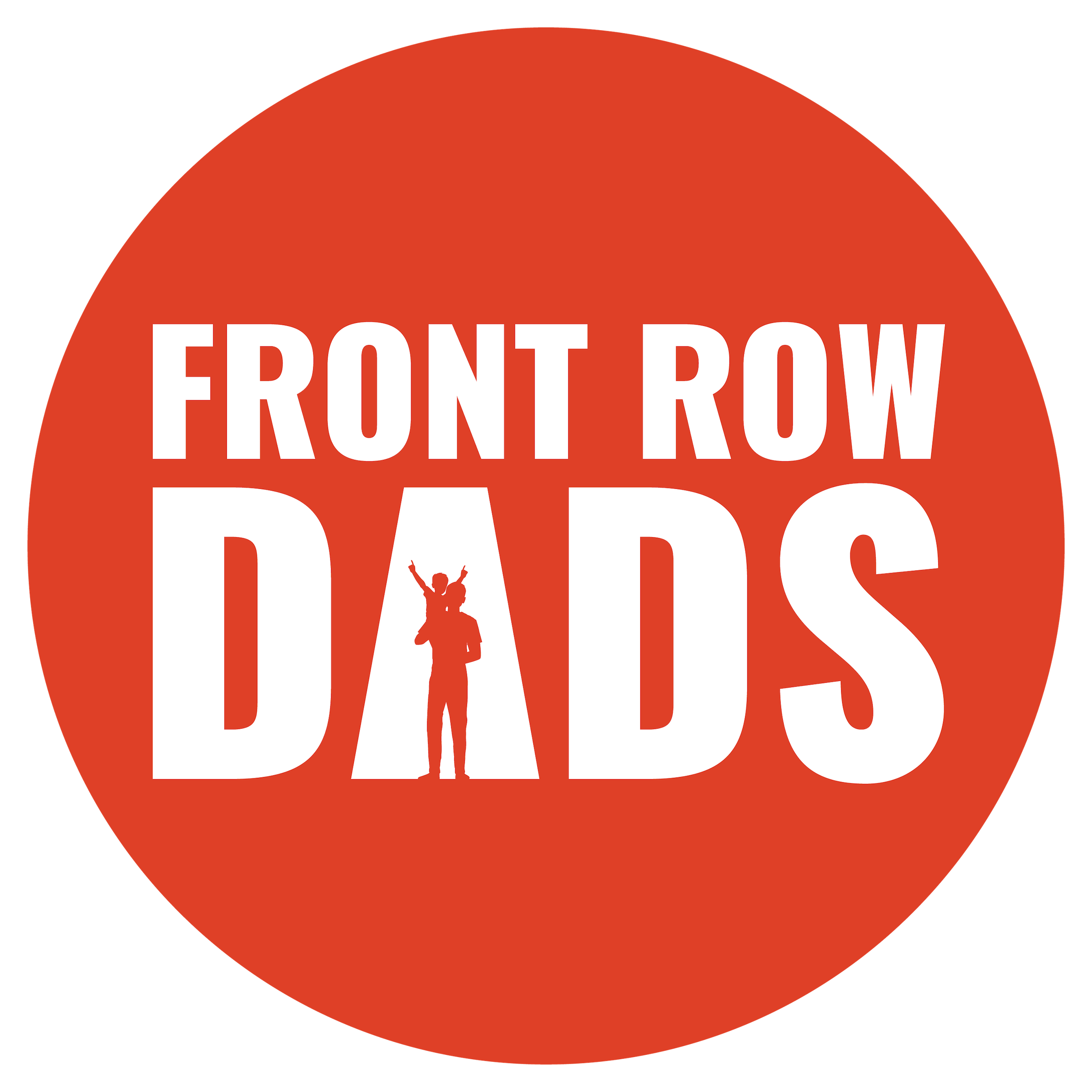 The Front Row Dad Podcast show art