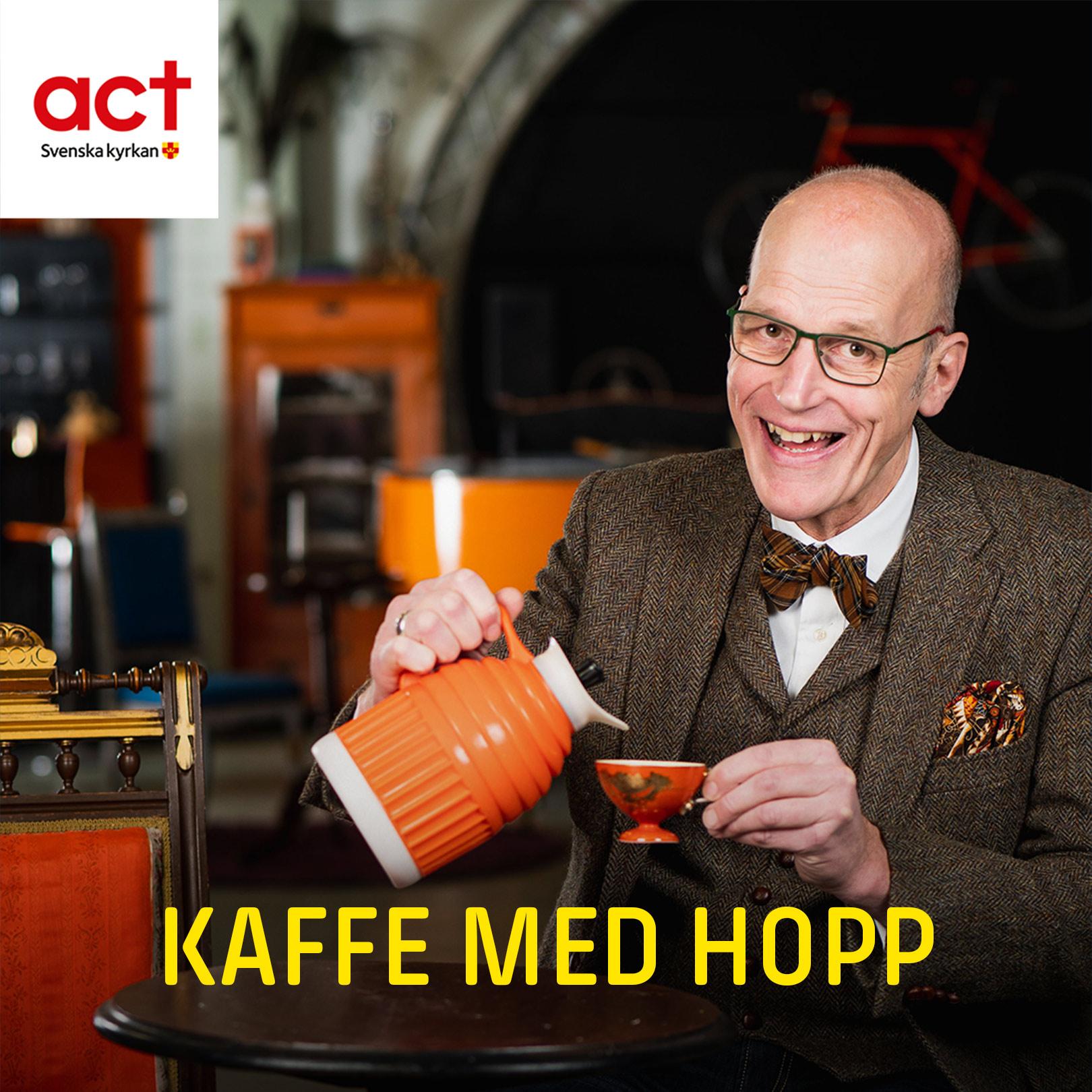 Kaffe med hopp show art