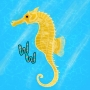 Artwork for Lined Seahorse