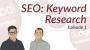 Artwork for Dodgeball Marketing Podcast #1: Doing Keyword Research for SEO