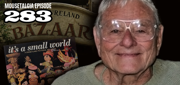 Mousetalgia Episode 283: Disney Legend Rolly Crump, Seattle's PNW Mouse Meet