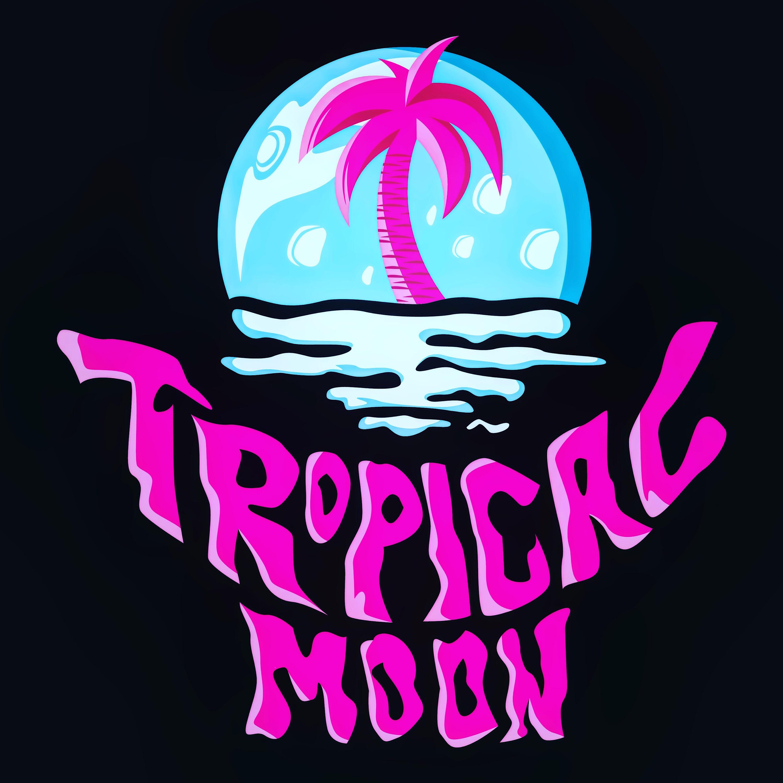 Tropical Moon show art
