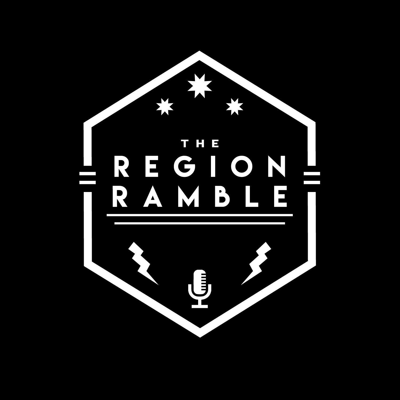 The Region Ramble show art