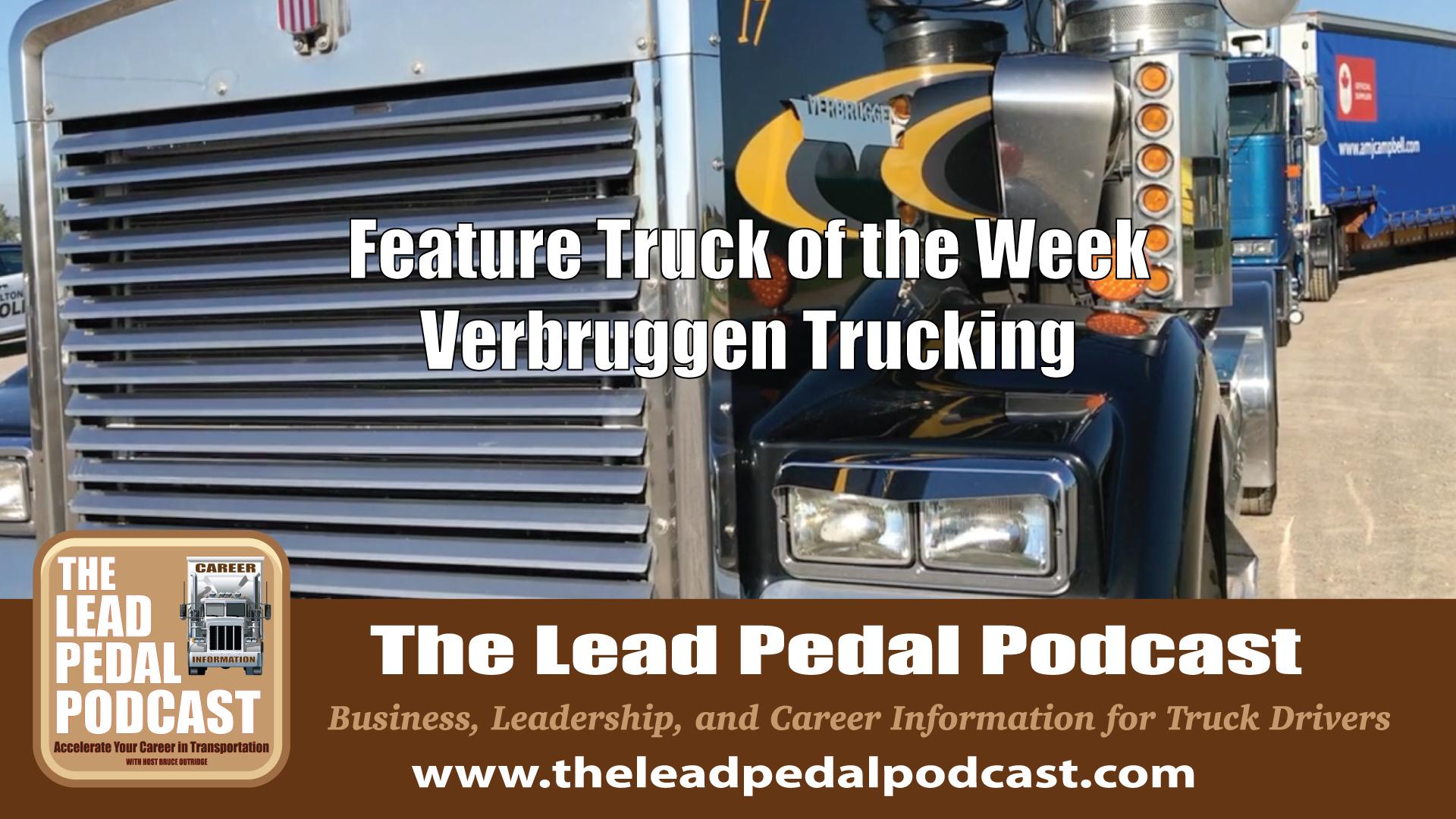 Featured Truck -Verbruggen Trucking