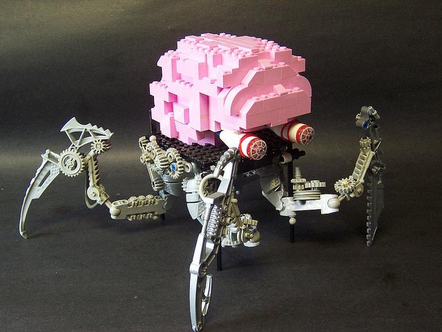 Lego Worm Brain
