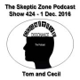 Artwork for The Skeptic Zone #424 - 1.December.2016