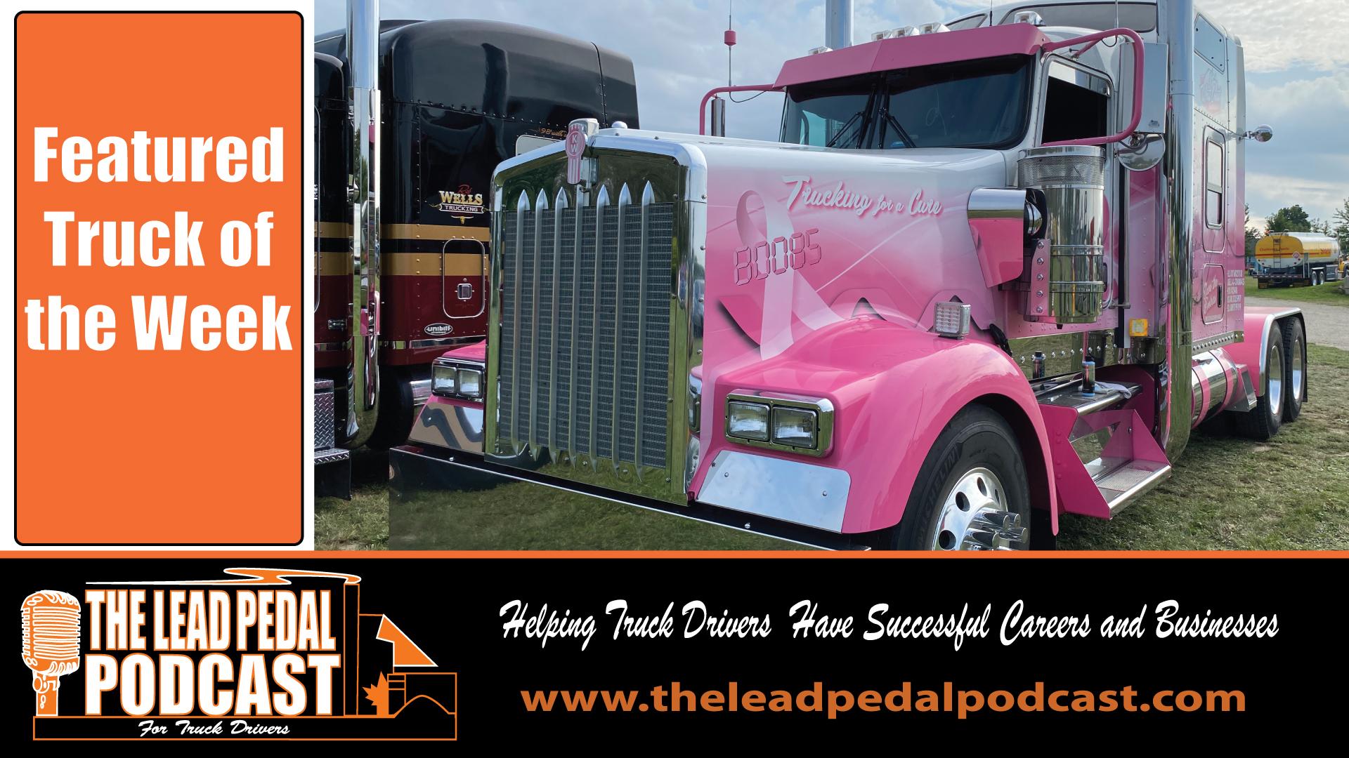 LP697 Featured Truck of the Week - West Coast Transport Kenworth