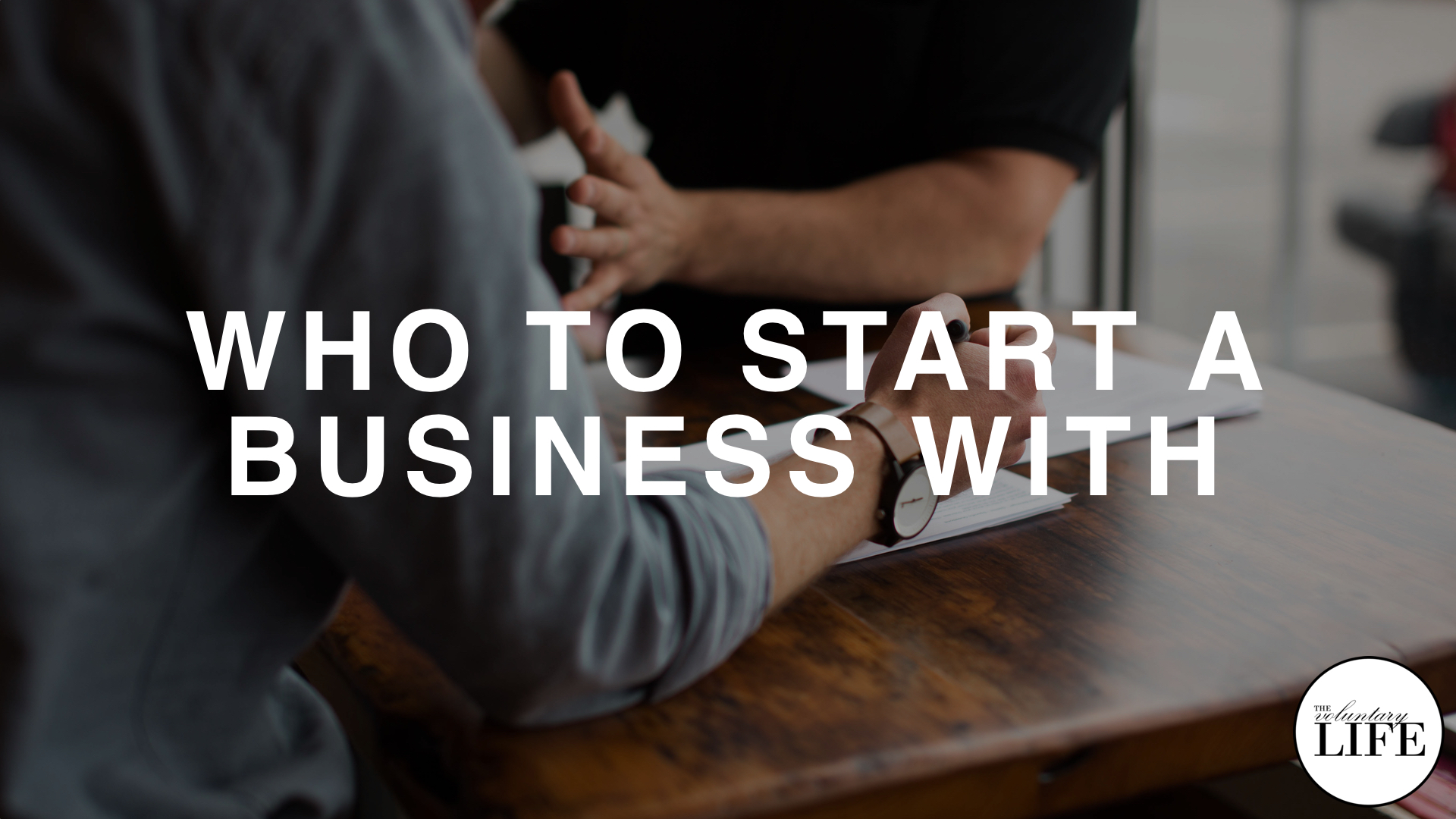 110 Who To Start A Business With
