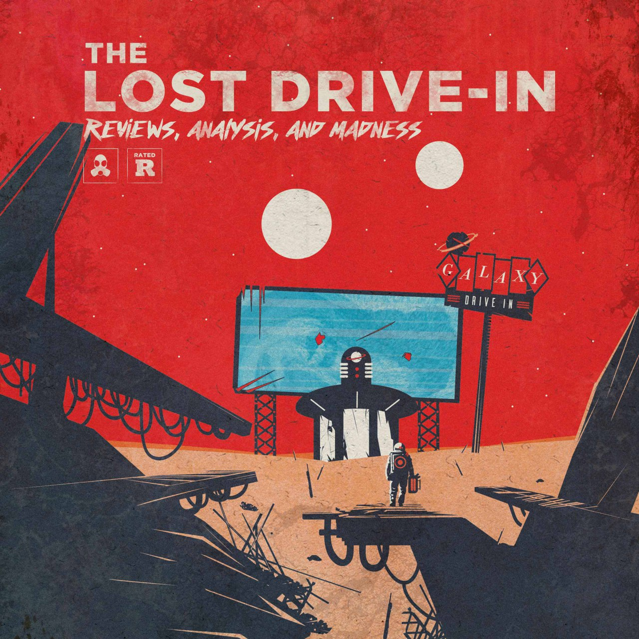 The Lost Drive-In show art