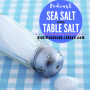 Artwork for Sea Salt versus Table Salt
