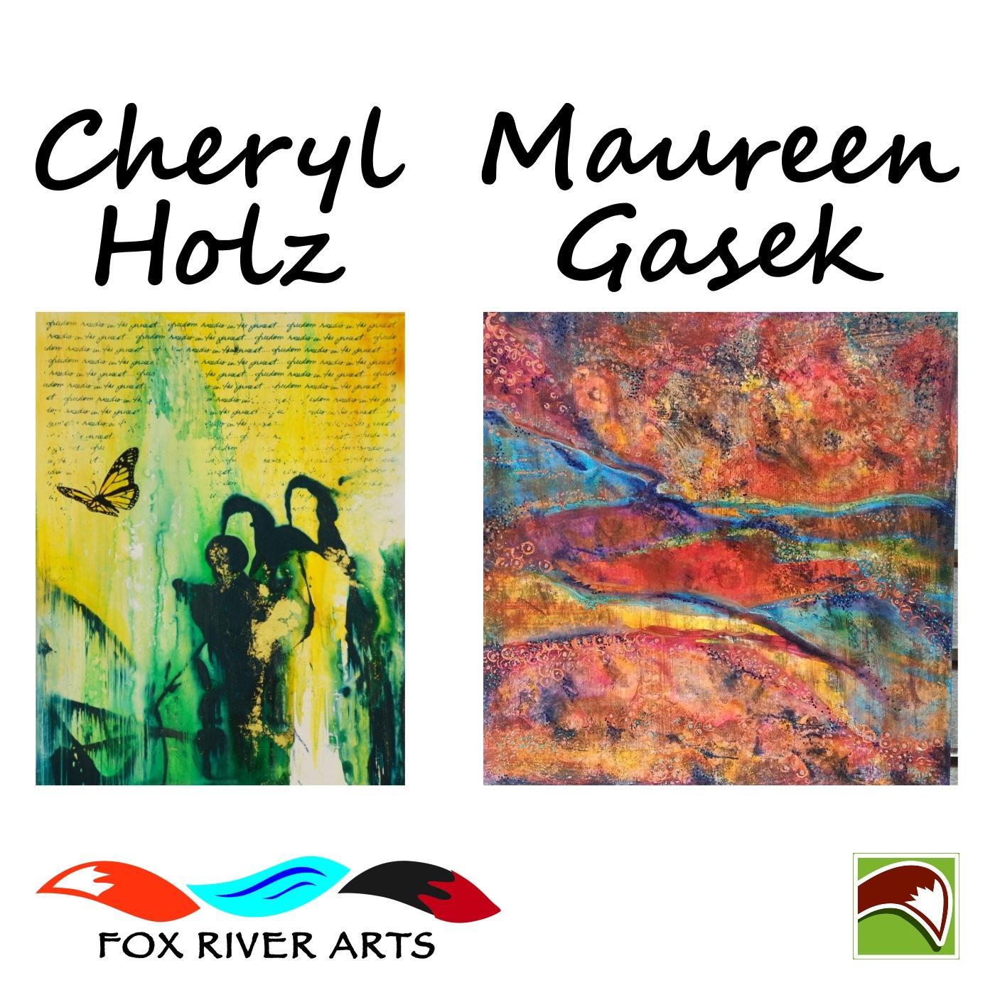 Artwork for Cheryl Holz and Maureen Gasek