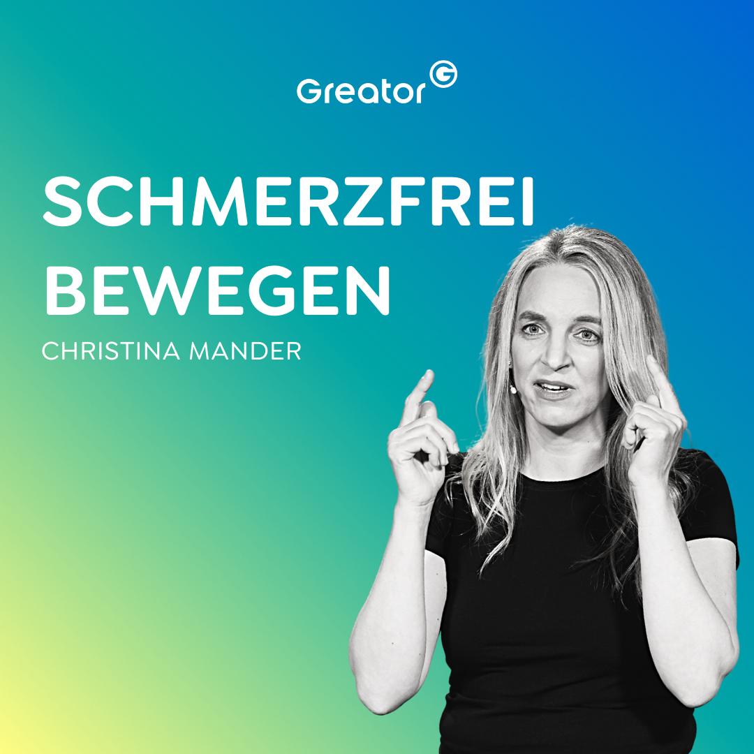 #802 Sei dein eigener Experte für deinen Körper // Christina Mander
