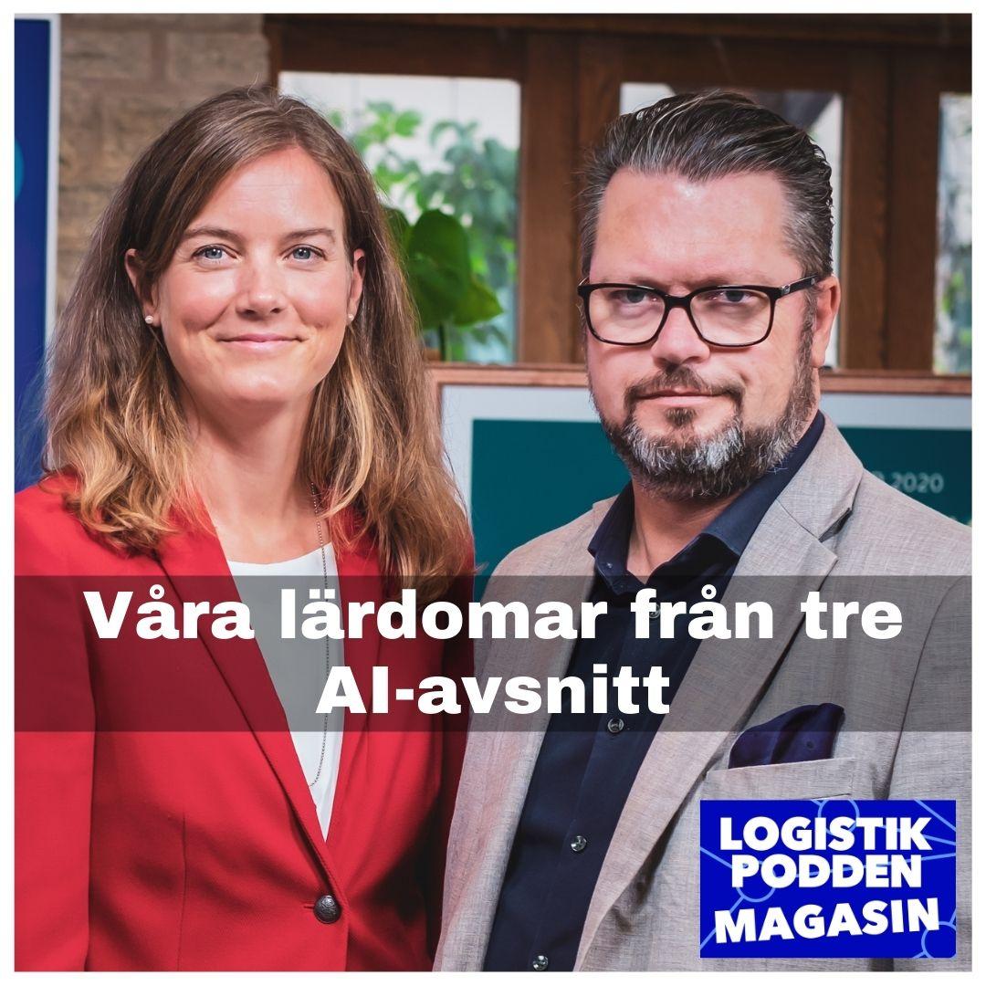 Logistikpodden Magasin #29 - Våra lärdomar från tre AI-avsnitt