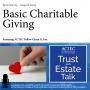 Artwork for Basic Charitable Giving