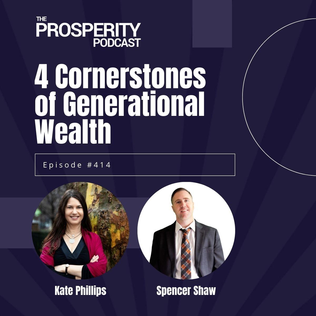 4 Cornerstones of Generational Wealth