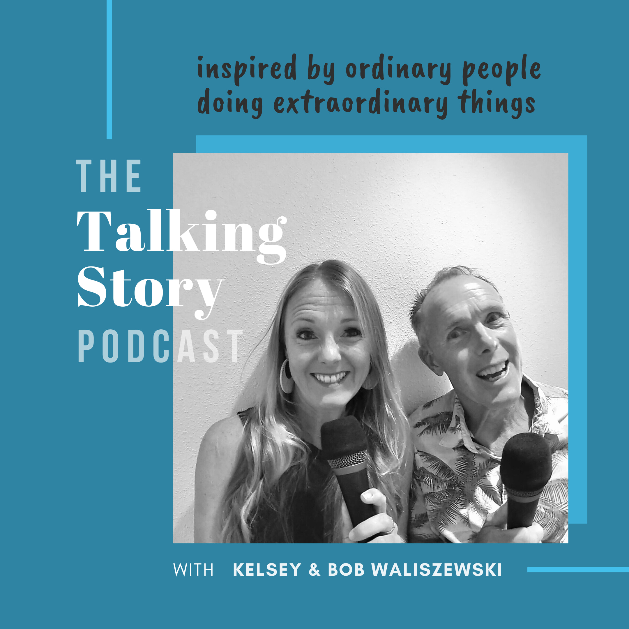 The Talking Story Podcast show art
