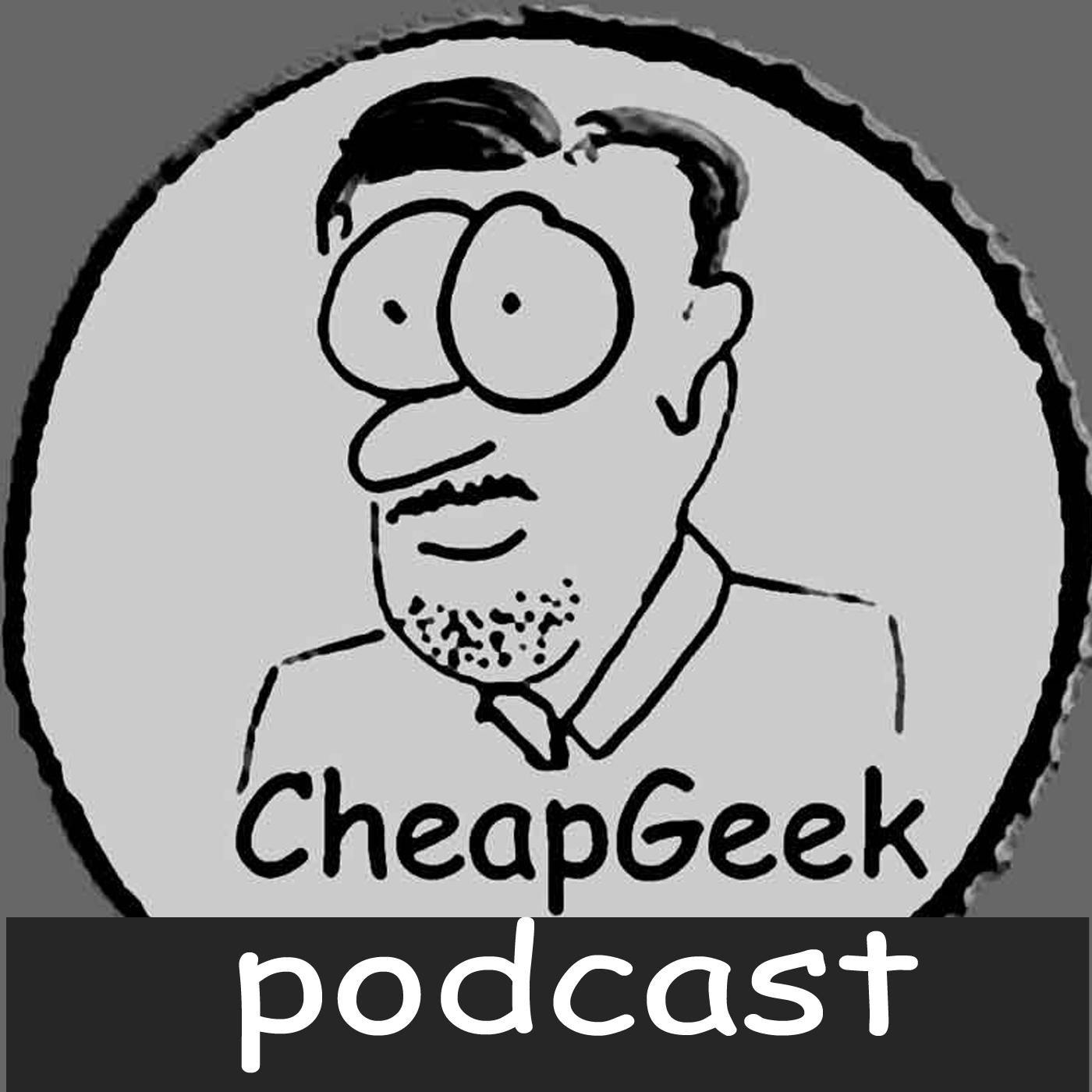 CheapGeek Podcast logo
