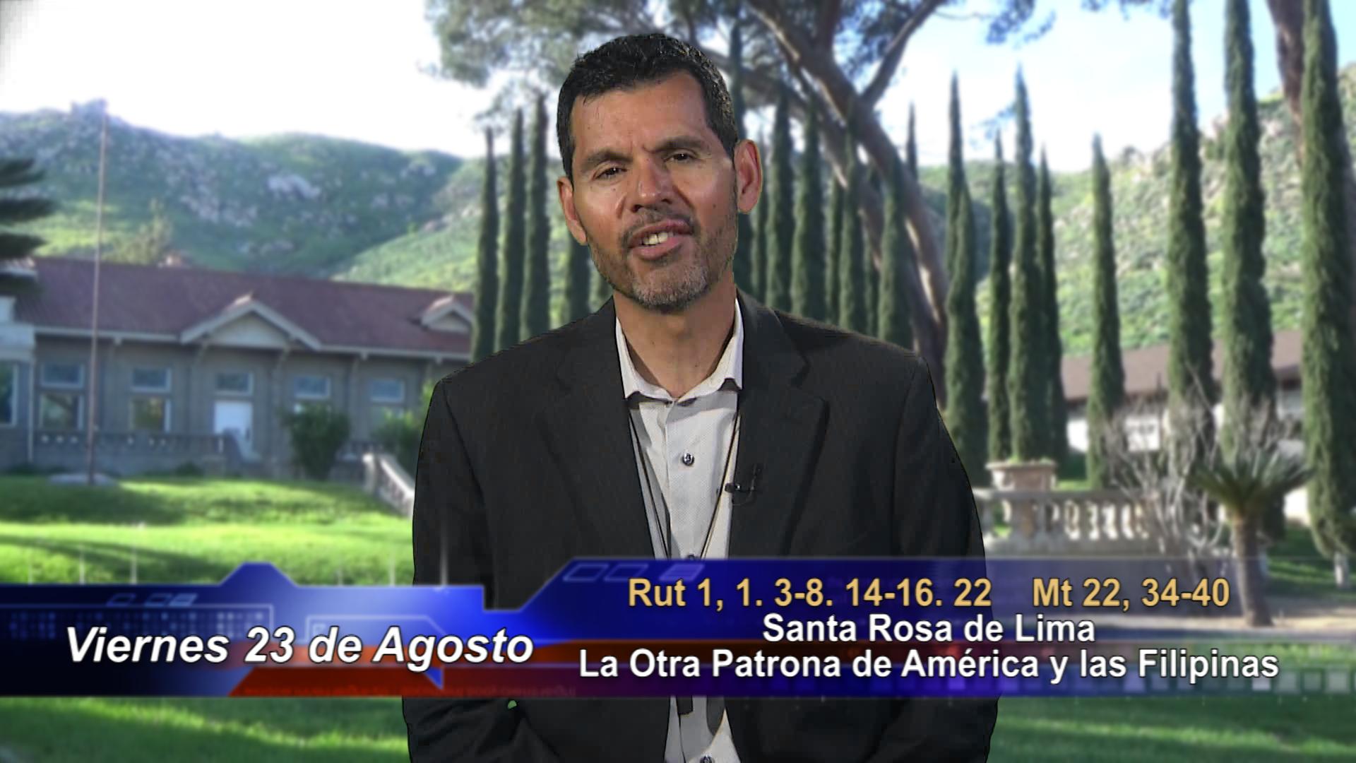 """Artwork for Dios te Habla con Jose Luis Elias; Tema el hoy: """"Santa Rosa de Lima, la Otra Patrona de América y las Filipinas"""""""