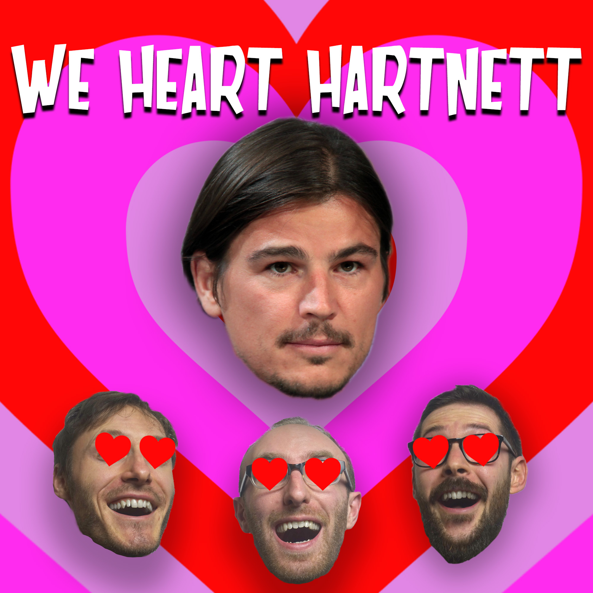 We Heart Hartnett show art