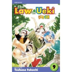 Manga Review: The Law of Ueki Volume 9 by Tsubasa Fukuchi