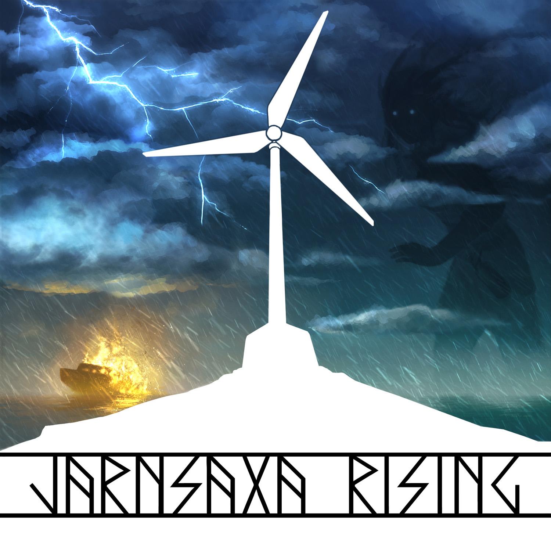 Jarnsaxa Rising logo