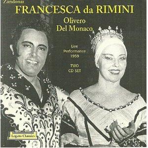 Francesca da Rimini w.Olivero,Del Monaco