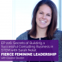 Artwork for EP226 Secrets of Building a Successful Consulting Business in STEM with Sarah Nolet