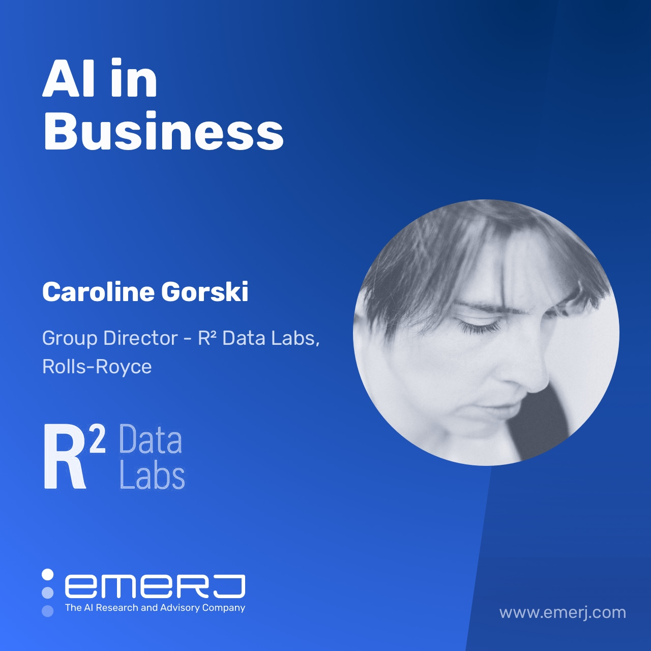 NLP for Optimizing the Supply Chain, Present and Future Use-Cases - with Caroline Gorski of Rolls Royce