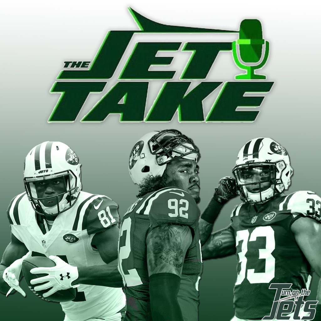 Artwork for The Jet Take 62: Who Deserves Blame for the Jets' 2nd Collapse in a Row?