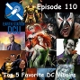 Artwork for The Earth Station DCU Episode 110 – Top 5 Favorite DC Villains