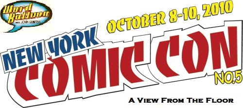 NYCC 2010 Walt & Louise Simonson Nicola Scott RM Guerra and More!