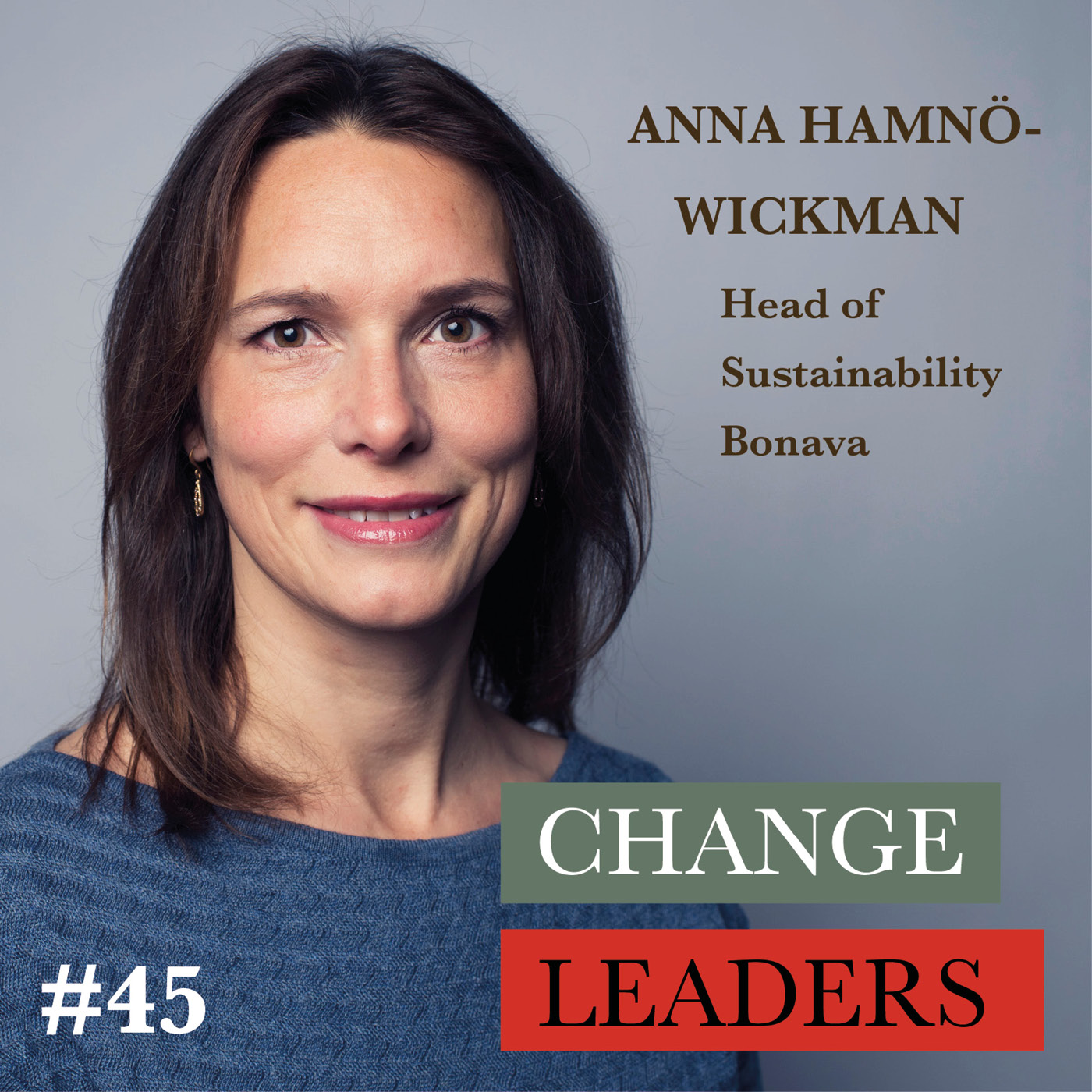 #45 Anna Hamnö Wickman, Head of Sustainability Bonava - What makes a happy home?