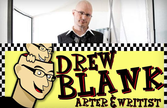 Drew Blank, Illustrator and Novelist