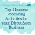 Top 5 Income Producing Activities For Your Direct Sales Business show art