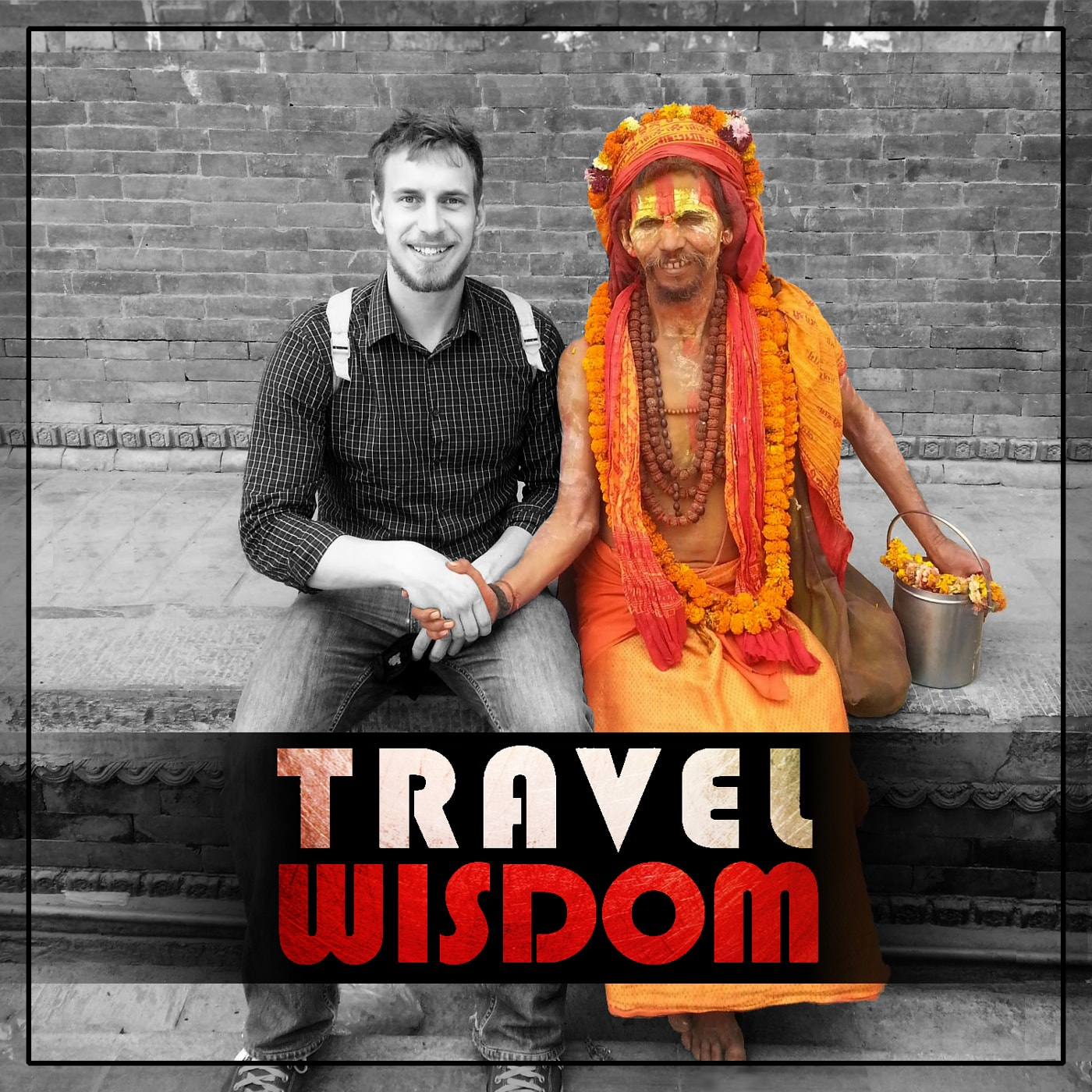 Travel Wisdom Podcast -travel and learn languages for success and money logo