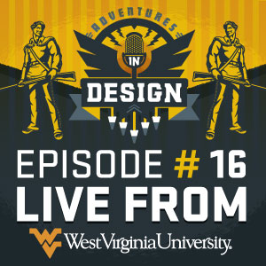 "Episode 16 ""Live From West Virginia University"" featuring the WVU printmaking department."