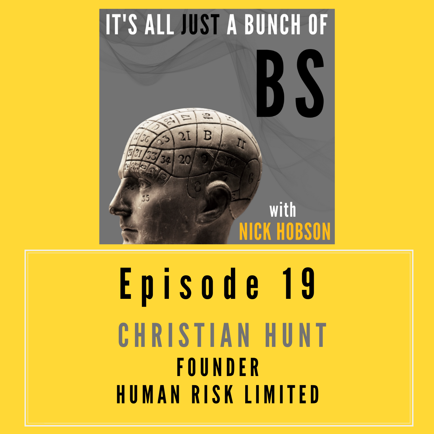 Episode 19 with CHRISTIAN HUNT: Bringing Science to Compliance, or, When Good People to Bad Things