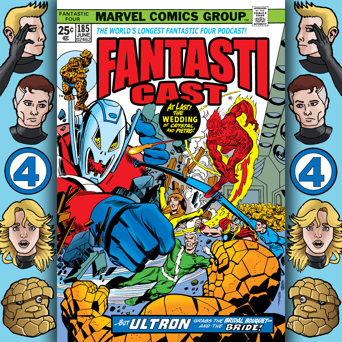 Episode 186: Fantastic Four #150 - Ultron-7: He'll Rule The World